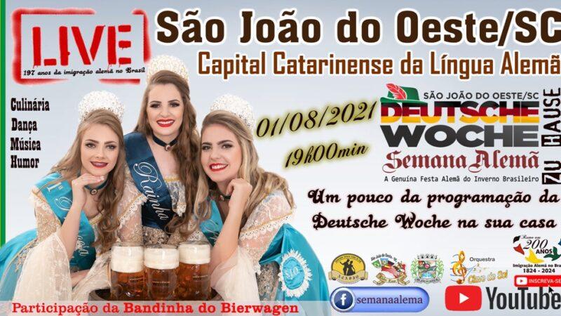 Julho terá programações alusivas a Deutsche Woche e Imigração Alemã no Brasil
